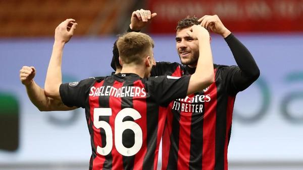 AC Milan Vs Benevento:Menang 2-0, Rossoneri Balik ke Posisi Kedua
