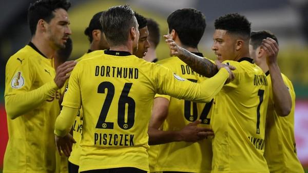 DFB Pokal: Hajar Holstein Kiel 5-0, Dortmund ke Final