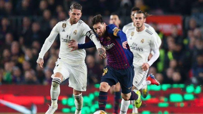 Link live Streaming Elclasico Real Madrid vs Barcelona  Malam Ini 2021