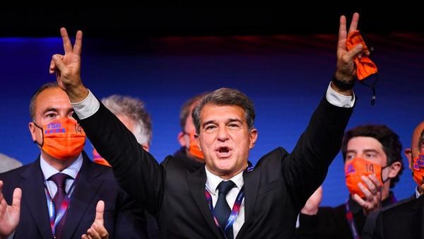 Presiden Barcelona Yakin Los Cules Bisa Juara LaLiga, Ini Syaratnya