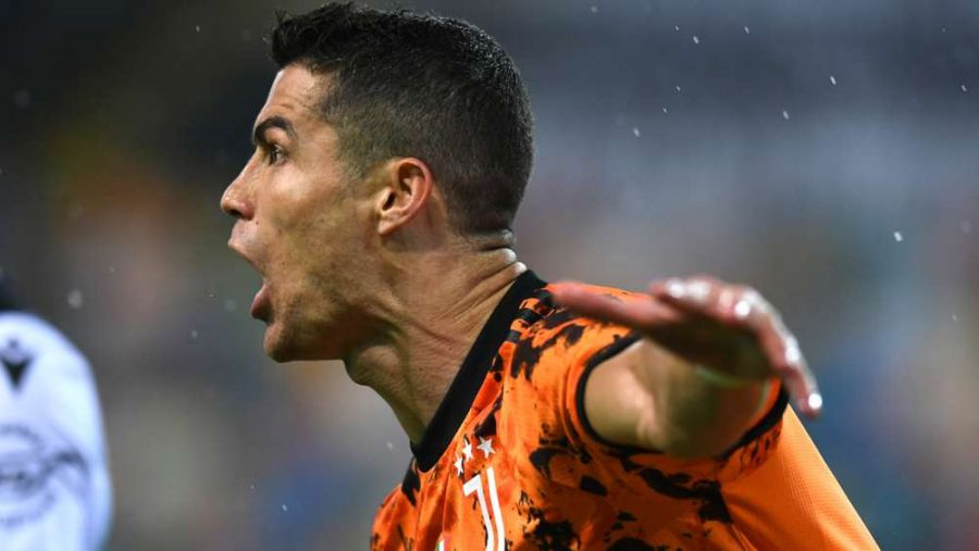 Udinese 1-2 Juventus: Diselamatkan Cristiano Ronaldo Dalam Enam Menit
